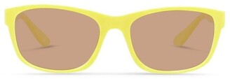 Dresden Vision Daffodil Yellow UV Protected Sunglasses with Brown Tint