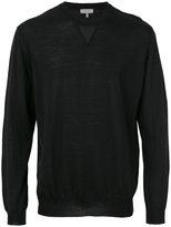 Lanvin crew neck sweatshirt - men - Polyamide/Viscose/Wool - S