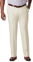 Haggar Big & Tall Cool 18 Pro - Classic Fit, Flat Front, Hidden Expandable Waistband