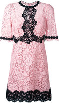Dolce & Gabbana lace dress - women - Silk/Cotton/Polyamide/Viscose - 48