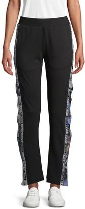 Roberto Cavalli Sport Side Button Pants