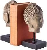 Bey-Berk Buddha Head Bookends (Set of 2)