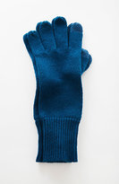 J. Jill Ribbed Wool & Cashmere Smart Gloves