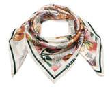 Isabel Marant Hawaiian Printed Silk Scarf