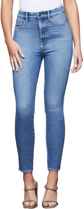 Good American Good Curve Skinny Cropped Jeans - Inclusive Sizing