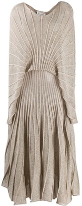 Stella McCartney Glitter Knitted Long Dress