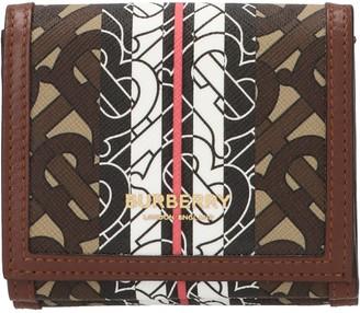 Burberry Monogram Print Folding Wallet