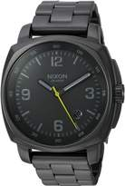 Nixon Men's A1072632-00 Charger Analog Display Quartz Watch