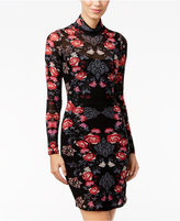 Material Girl Juniors' Printed Bodycon Dress, Only at Macy's