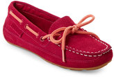 Cole Haan Kids Girls) Electra Pink Moc Toe Grant Drivers
