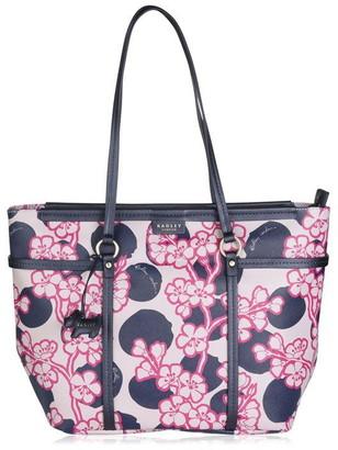 Radley Blossom spot large tote shoulder bag