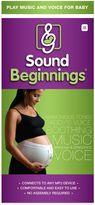 Sound BeginningsTM Prenatal Sounds Delivery System in White