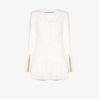 Alexander Wang Longline Tweed Jacket