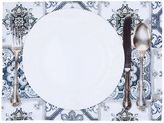 Tablecloths.it Maioliche Grigie Set Of 2 Placemats