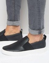Pull&Bear Sneakers in Black