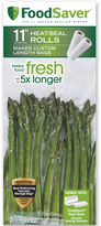 FoodSaver 2-Pack 11x16' Rolls