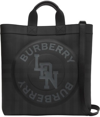 Burberry large London Check tote