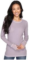 Allen Allen L/S Thumbhole Tee Women's Long Sleeve Pullover