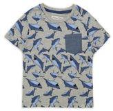 Sovereign Code Little Boy's Trav Jaws Cotton Shirt
