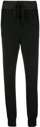 Ann Demeulemeester Drawstring Slim-Fit Trousers