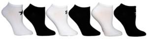 Steve Madden Women's 6-Pk. Solid With Star & Logo Low-Cut Socks