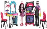 Monster High Vampire Kitchen Playset & 2-Pack Doll