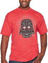 Star Wars Starwars Vader Sugar Short Sleeve Graphic T-Shirt-Big and Tall