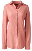 Classic Women's Corduroy Shirt-Antique Peach Dots