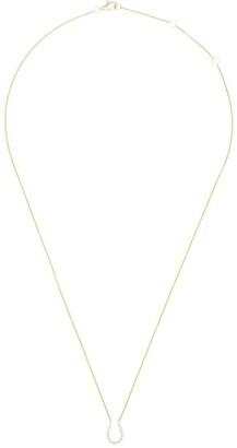 Rosa de la Cruz 18kt Gold Horseshoe Necklace