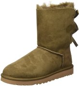 UGG women's suede ankle boots booties bailey bow US size 1002954WDLF