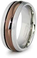 Tioneer Stainless Steel Wedding Band, Size 11