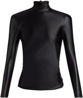 Balenciaga Long-sleeved open-back top