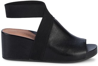 Gentle Souls Gianna Leather Wedge Sandals