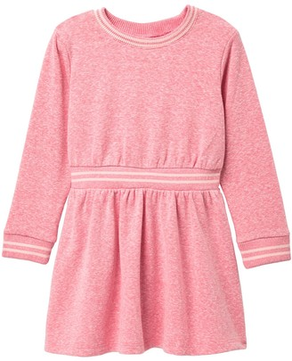 Joe Fresh Long Sleeve Tunic Dress (Toddler & Little Girls)