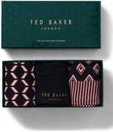 Ted Baker ORGANIC 3 PACK SOCK GIFT