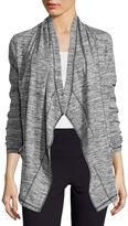 Liz Claiborne Draped Knit Jacket