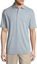 Peter Millar Tygra Striped Jersey Polo Shirt