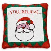 Sudha Pennathur Santa Velvet Decorative Pillow