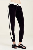 True Religion Velvet Stripe Womens Sweatpant