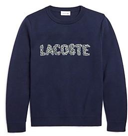 Lacoste Boys' Croc Logo Sweatshirt - Little Kid, Big Kid