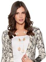 M&Co Disc necklace