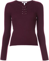 Derek Lam 10 Crosby classic fitted knitted top - women - Wool - XS