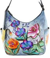 Anuschka Classic Genuine Leather Handpainted Hobo