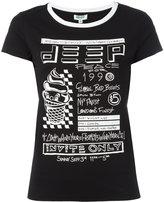 Kenzo invite print T-shirt - women - Cotton - XS