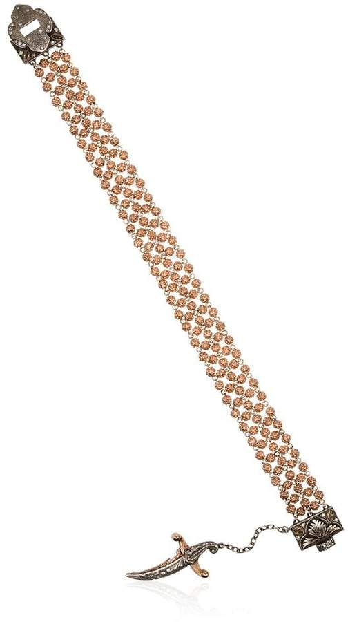 Sevan Biçakci sword charm beaded bracelet