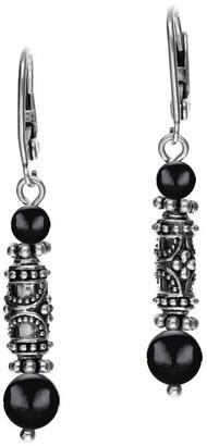 Elyse Ryan Sterling Gemstone Dangle Earrings