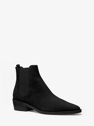 Michael Kors Lottie Suede Ankle Boot