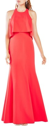 BCBGMAXAZRIA Azria Women's Louella Woven Evening Dress