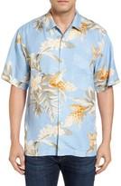 Tommy Bahama Men's Big & Tall Guava Garden Silk Camp Shirt