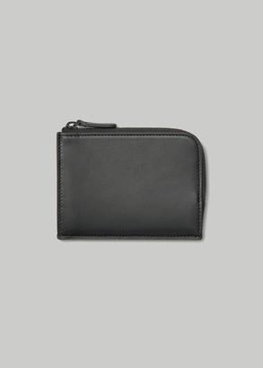 Common Projects Men's Zip Wallet in Black